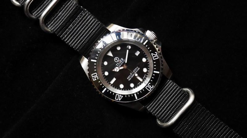 Black DS Watch