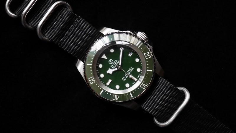 Dark Green DS Watch